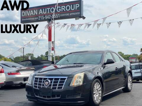 2012 Cadillac CTS for sale at Divan Auto Group in Feasterville Trevose PA
