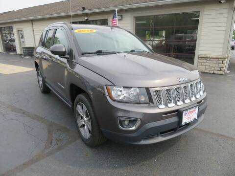 2016 Jeep Compass for sale at Tri-County Pre-Owned Superstore in Reynoldsburg OH