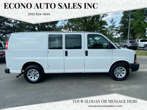 2013 Chevrolet Express Cargo for sale at Econo Auto Sales Inc in Raleigh NC