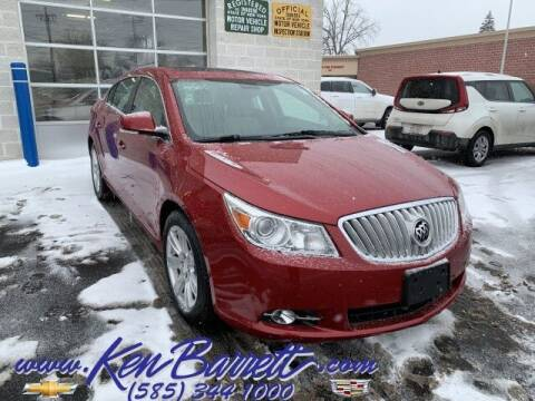 2012 Buick LaCrosse for sale at KEN BARRETT CHEVROLET CADILLAC in Batavia NY
