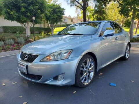 2007 Lexus IS 250 for sale at E MOTORCARS in Fullerton CA
