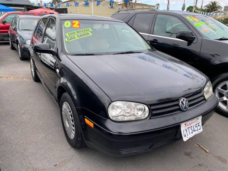2002 Volkswagen Golf for sale at North County Auto - North Auto County 2 in Vista CA