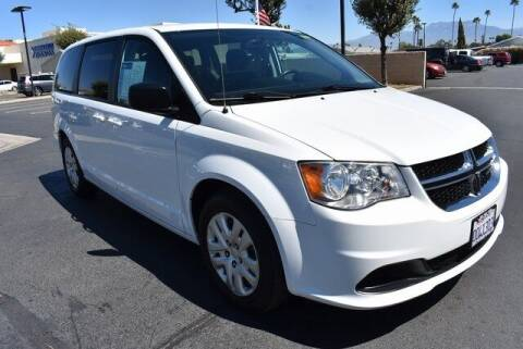 2018 Dodge Grand Caravan for sale at DIAMOND VALLEY HONDA in Hemet CA