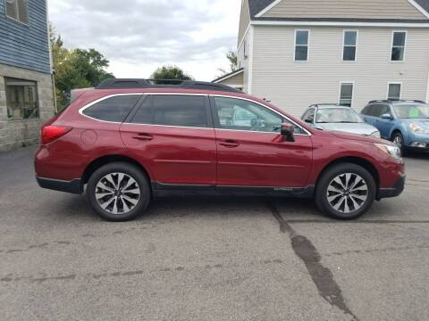 2016 Subaru Outback for sale at CHIP'S SERVICE CENTER in Portland ME