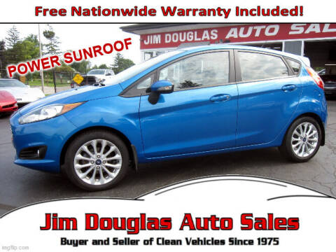 2014 Ford Fiesta for sale at Jim Douglas Auto Sales in Pontiac MI