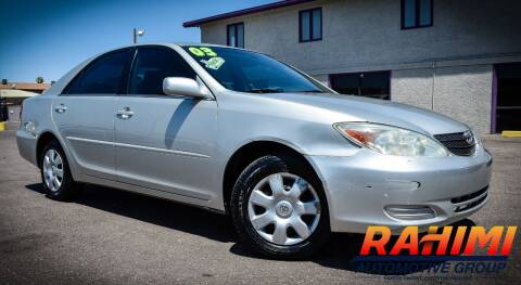 2003 Toyota Camry for sale at Rahimi Automotive Group in Yuma AZ