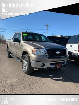 2006 Ford F-150 for sale at Quality Auto City Inc. in Laramie WY