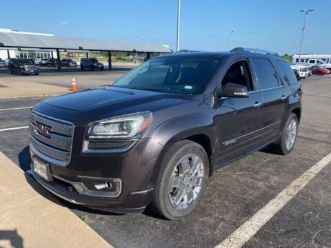 2015 GMC Acadia for sale at Jerry's Buick GMC in Weatherford TX