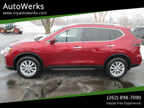 2018 Nissan Rogue for sale at AutoWerks in Sturtevant WI