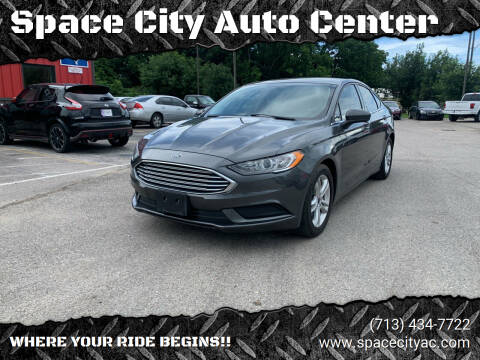 2018 Ford Fusion for sale at Space City Auto Center in Houston TX