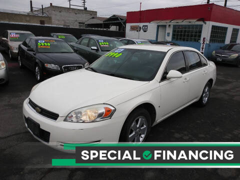 2008 Chevrolet Impala for sale at Speedway Auto Sales in Yakima WA