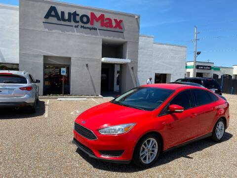 2015 Ford Focus for sale at AutoMax of Memphis - Nate Palmer in Memphis TN
