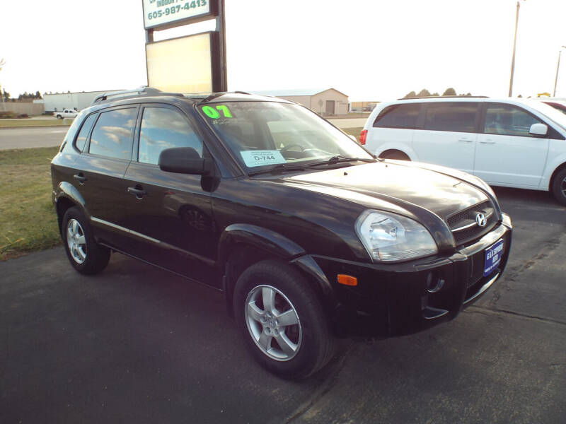 2007 Hyundai Tucson for sale at G & K Supreme in Canton SD