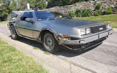 1985 DeLorean Time Machine for sale at Classic Car Deals in Cadillac MI