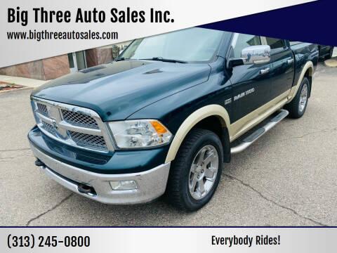 2011 RAM Ram Pickup 1500 for sale at Big Three Auto Sales Inc. in Detroit MI