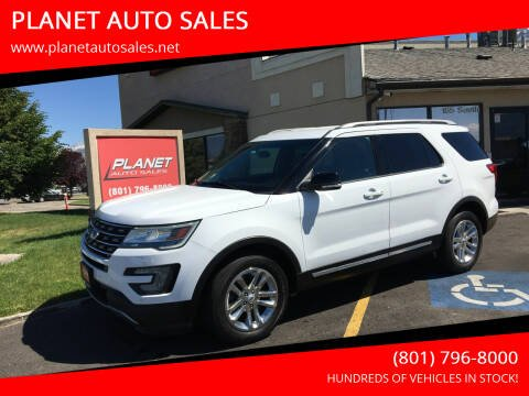 2017 Ford Explorer for sale at PLANET AUTO SALES in Lindon UT