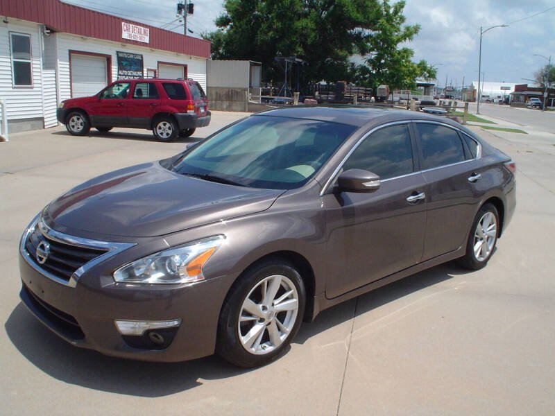 2014 Nissan Altima for sale at World of Wheels Autoplex in Hays KS