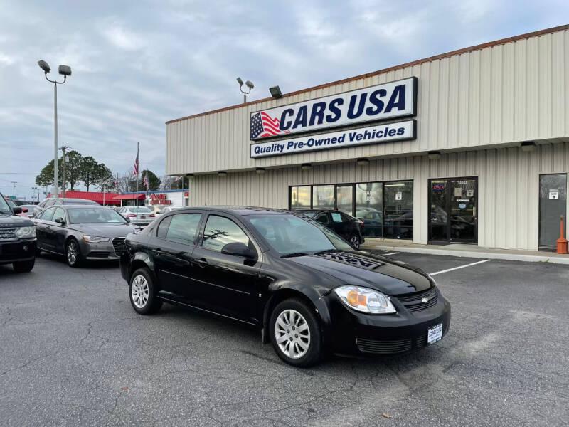 2010 Chevrolet Cobalt for sale at Cars USA in Virginia Beach VA