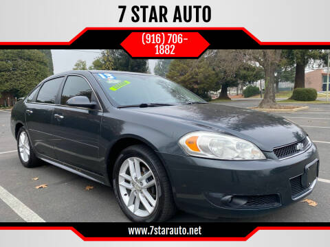 2013 Chevrolet Impala for sale at 7 STAR AUTO in Sacramento CA