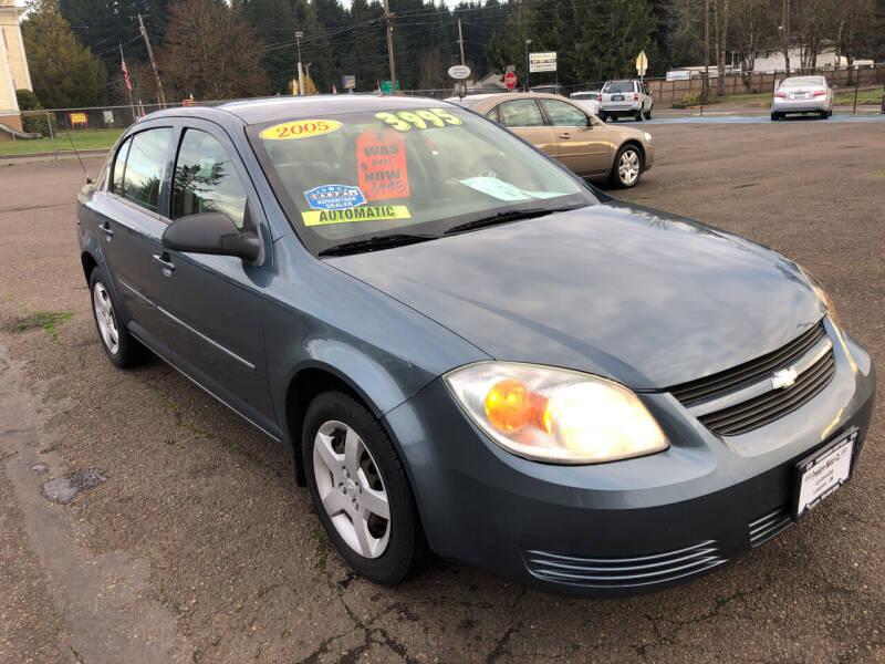 2005 Chevrolet Cobalt for sale at Freeborn Motors in Lafayette, OR