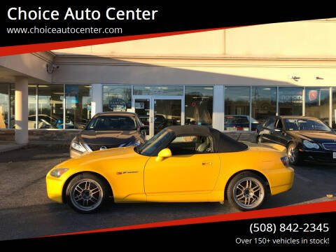 2007 Honda S2000 for sale at Choice Auto Center in Shrewsbury MA