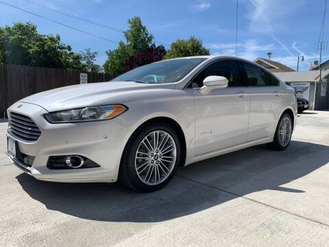 2013 Ford Fusion Hybrid for sale at Integrity Motorz, LLC in Tracy CA