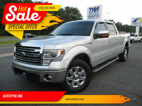 2013 Ford F-150 for sale at AUTOTYM INC in Fredericksburg VA