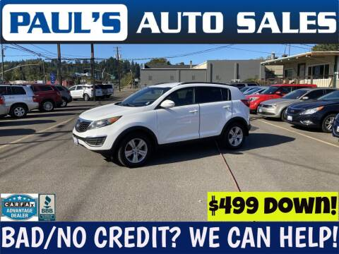 2013 Kia Sportage for sale at Paul's Auto Sales in Eugene OR