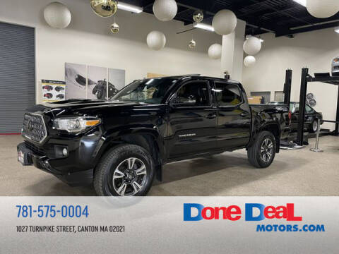 2018 Toyota Tacoma for sale at DONE DEAL MOTORS in Canton MA