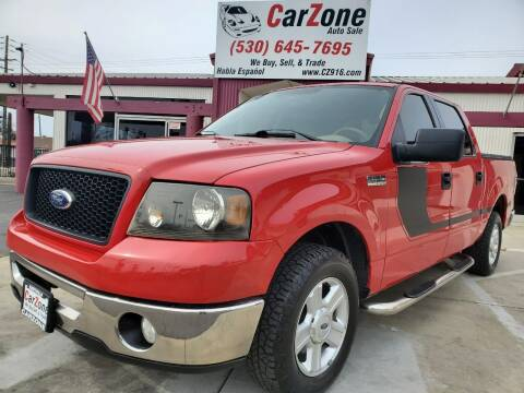 2006 Ford F-150 for sale at CarZone in Marysville CA