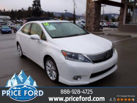 2010 Lexus HS 250h for sale at Price Ford Lincoln in Port Angeles WA