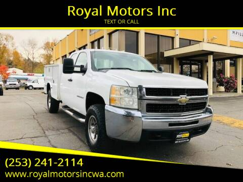 2009 Chevrolet Silverado 3500HD CC for sale at Royal Motors Inc in Kent WA