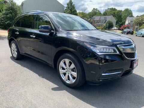 2016 Acura MDX for sale at Elite Motors in Washington DC