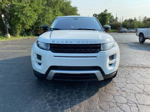 2012 Land Rover Range Rover Evoque for sale at Platinum Cars Exchange in Downers Grove IL