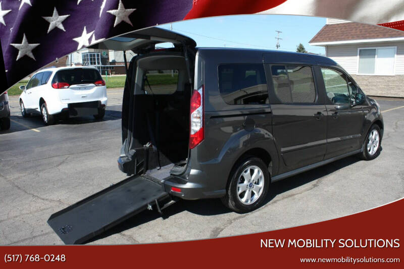 2016 Ford Transit Connect Wagon for sale at New Mobility Solutions in Jackson MI
