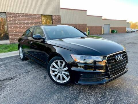 2014 Audi A6 for sale at EMH Motors in Rolling Meadows IL