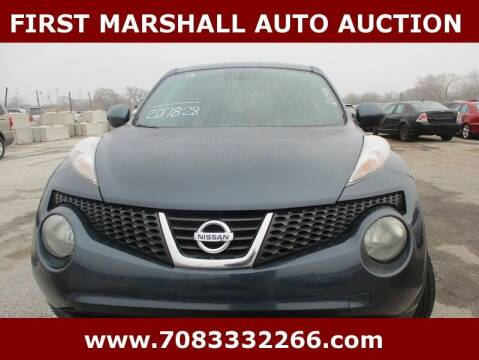 2013 Nissan JUKE for sale at First Marshall Auto Auction in Harvey IL
