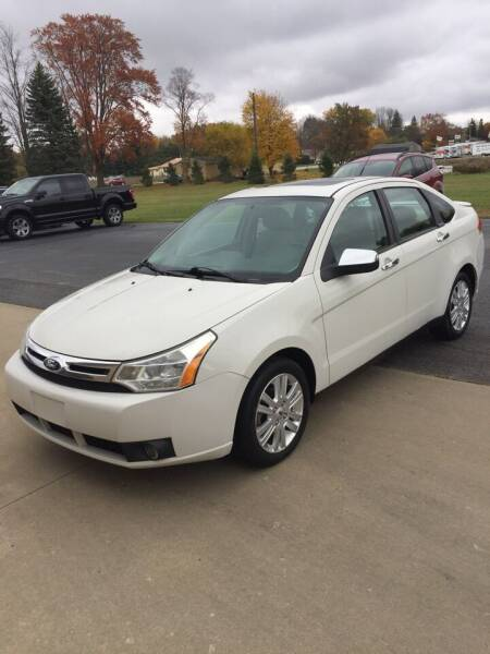 2011 Ford Focus for sale at Hines Auto Sales in Marlette MI