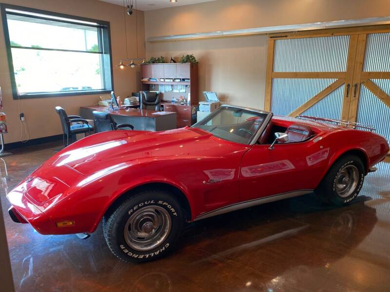 1975 Chevrolet Corvette for sale at Indiana Auto Sales Inc in Bloomington IN