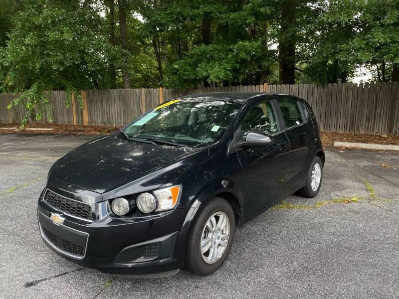 2015 Chevrolet Sonic for sale in Smyrna, GA
