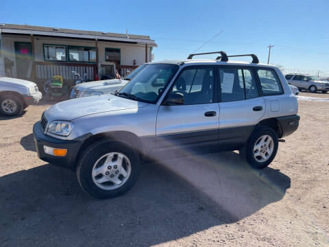 1998 Toyota RAV4 for sale at PYRAMID MOTORS - Fountain Lot in Fountain CO