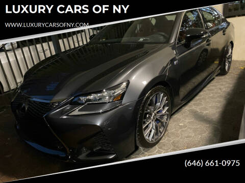 2020 Lexus GS F for sale at LUXURY CARS OF NY in Queens NY