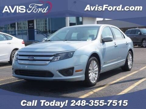 2010 Ford Fusion Hybrid for sale at Work With Me Dave in Southfield MI