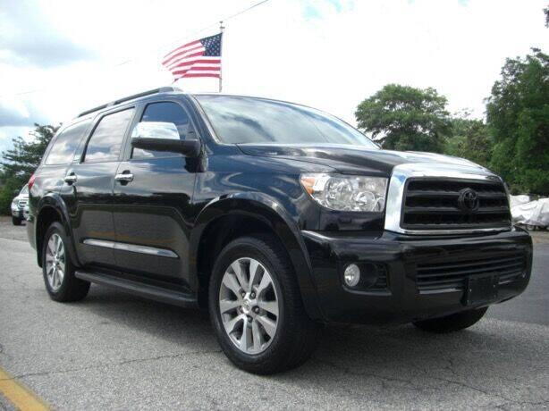 2016 Toyota Sequoia for sale at Manquen Automotive in Simpsonville SC