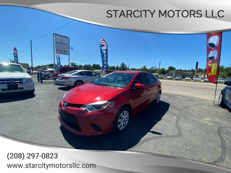 2014 Toyota Corolla for sale at StarCity Motors LLC in Garden City ID