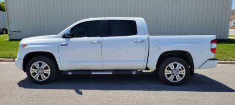 2014 Toyota Tundra for sale at TNK Autos in Inman KS