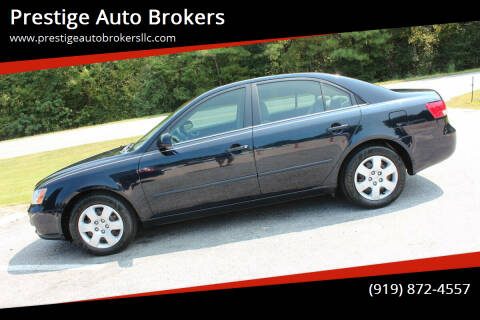 2007 Hyundai Sonata for sale at Prestige Auto Brokers in Raleigh NC