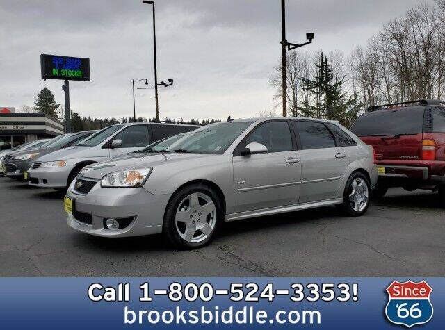 2006 Chevrolet Malibu Maxx for sale at BROOKS BIDDLE AUTOMOTIVE in Bothell WA