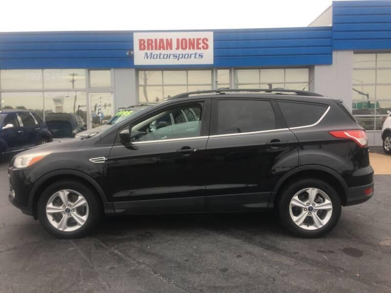 2014 Ford Escape for sale at Brian Jones Motorsports Inc in Danville VA