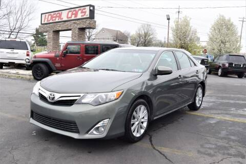 2012 Toyota Camry for sale at I-DEAL CARS in Camp Hill PA